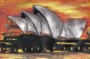один из моих рисунков: Сиднейская опера