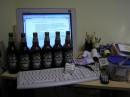 Рабочее место на ночь подготовлено, товарищ начальник! :)