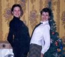 Я (справа) и сестра (слева)