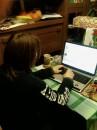 я с любимым ноутбуком