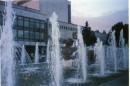 моддерский фонтан..с подсветкой..