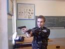 на военной кафедре)