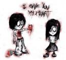 Віддаю тобі свое серденько....