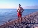 Meditterian Sea  Konyaalti Beach  Antalya