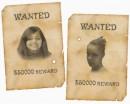 """Постер з розряду """"Їх шукає міліція!"""". Небезпечні дівчата!"""