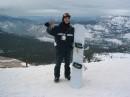 на высоте 3800м, под морозом минус 20, короче стоишь и чуствуешь всю глубину момента