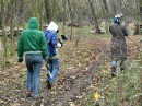 Idem na pole bojea,  11.11.2006 Paintball Usti nad Labem, Czech republik, * ja v zelenoj kurtke :) potom Ritka i Olia