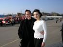 Я и мой сотрудник на выставке пожарной техники