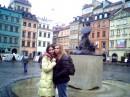 Я и моя подруга в Варшаве