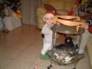 Соничка новый  год встречает в Израели 2006