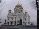 Я как бы не особо верующий, но попав туда внутрь был жутко впечатлен Аурой что ли того места...  *Храм Христа Спасителя, Москва