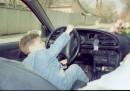 Лихой водитель)))
