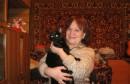 Я с любимым котом Джаником