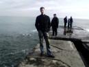 у Чёрного моря =)