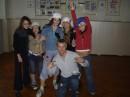 Состав группы по Хип-Хопу перед соревнованием.