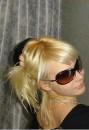 блондинка.......личность