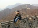 добрался... а она действительно большая, Китайская стена ))