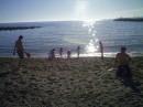 4 марта я слева друг справа на песке.Открывали купальный сезон ну как????????????????