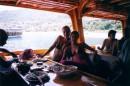 обед на яхте:)