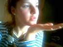 воздушный поцелуйчик))))