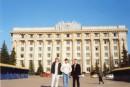 На трех богатырей не похоже... Я, брат, и Виталик. Kharkiv City.