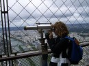 On top of the Eiffeltower!