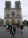 Me in front of the Notre Dame
