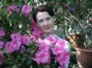 Таня в бот. саду