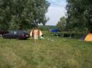 наш лагерь на Десне