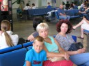 Борисполь... летим в Турцию...