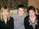 Яна,Сержик и я.