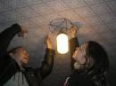 На прощанье пометили домик №13 на турбазе =))) мы туда еще вернемся =)))