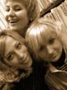 С подругами =)