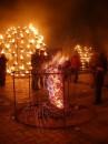 Огненное Шоу на Софиевской площади (ночью первого апреля). Было похоже на съёмки фильма про маленький персональный ад :-)