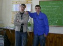 Мы с Серым на зарубежке)))