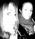 я и моя девочка)))