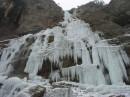 Водопад Учан-Су, зимой...