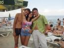 """Я, Олька и Димонза на Пляже """"Ривьера""""!(некоторые эту фотку видели)"""