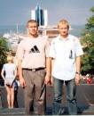 Я и мой младшый братик Вова.......            Мы в Одессе