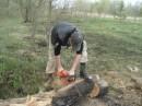 ЖЖЖЖЖЖ.......делаю дрова)