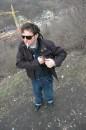 На смотровой аллее в Киеве. Раннее утро перед работой на Михайловской. 2006 февраль/март