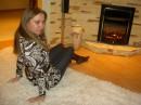 тепло и уютно у камина