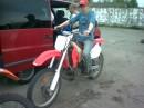 Тренировка по мотокросу..........Honda 250.........