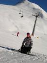 Австрия 2006-было ярко...солнце,снег и симпотичные экстрималы!