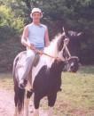 Кататься на лошади на вершине горы... это даже возбуждает!!!