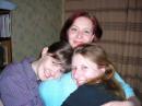 Ксюша, Анечка и я..