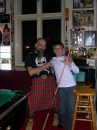 """Мой двоюродный братан с немецким """"кренделем"""" в шотландском килте..."""