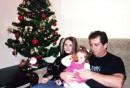 ну,эт давняшняя фота :)я,папа и моя малая :)))
