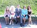 счастливи жених и невеста...ну и ми)))