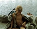 """:-D Эт я лодку """"охранял"""", а они пришли и разбудили ... подумать только, я когда-то был блондином"""